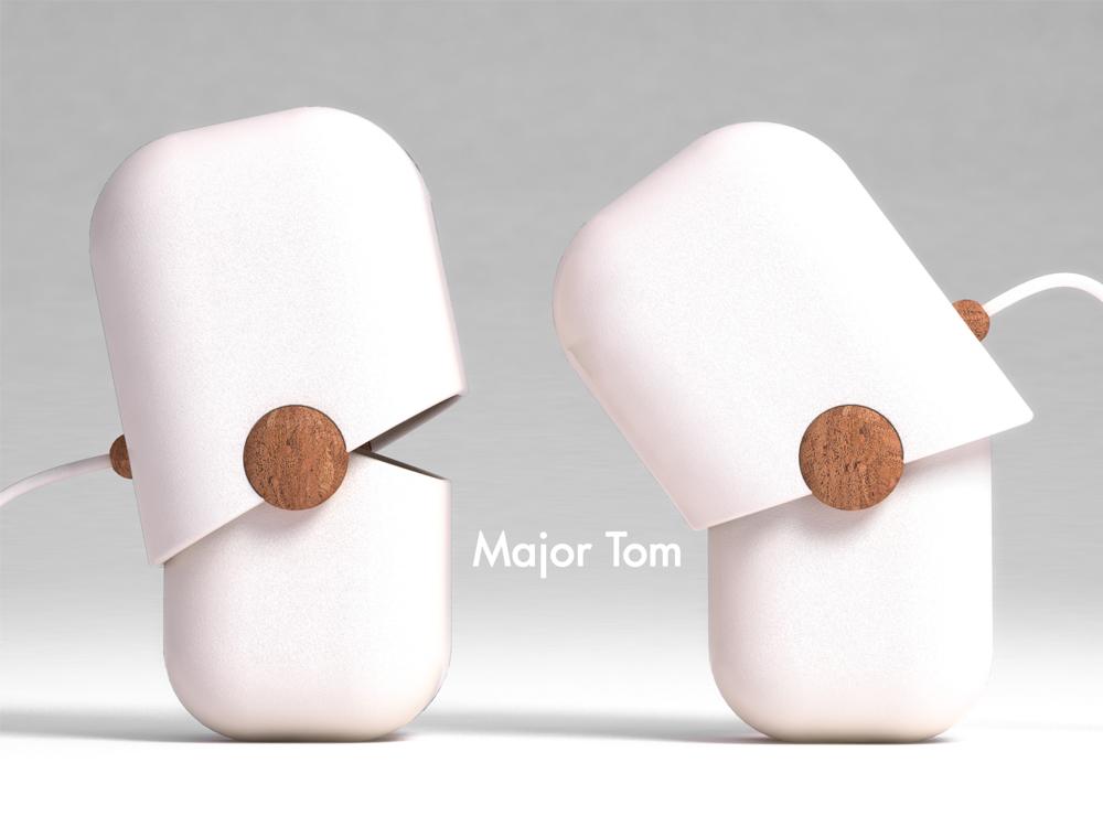 """La lampada """"Major Tom"""" vince il Design Project Contest"""